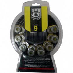 BSB ABEC 9 bearings for inline skates