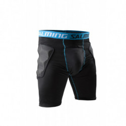 Salming ProTech zaštitne hlače sa suspenzorom za floorball golmana - Senior