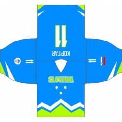 Olimpijski navijački dres Slovenske Hokejaške reprezentacije premium