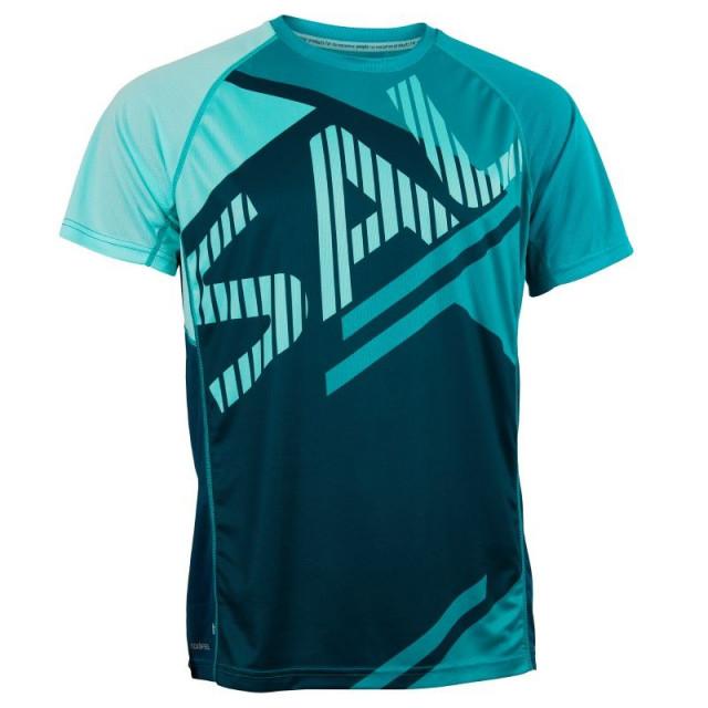 Salming Bold Print muška tekaška majica - Senior