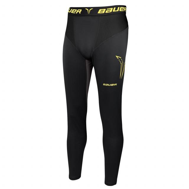 Bauer Premium duge kompresijske hlače sa suspenzorom - Senior